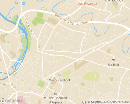 Localisation Espace et Vie Niort, Résidence avec Services - 79000 - Niort