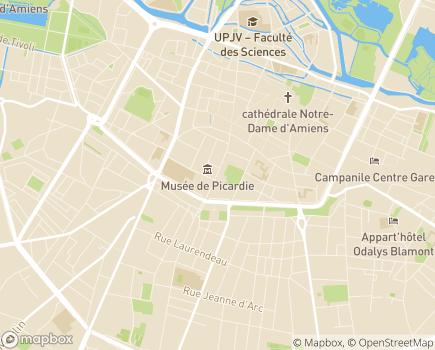 Localisation Conseil Départemental de la Somme - 80026 - Amiens