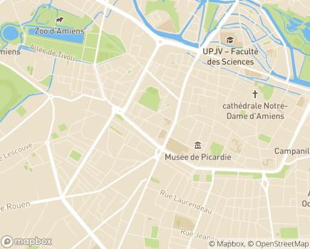 Localisation Mutualité Sociale Agricole - 80019 - Amiens