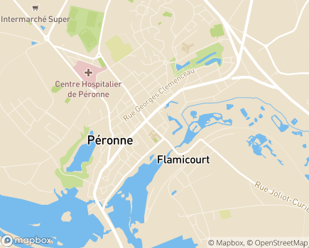 Localisation EHPAD Résidence Saint Fursy - 80200 - Péronne