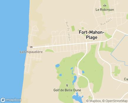 Localisation Colisée - Résidence de la Baie d'Authie - 80120 - Fort-Mahon-Plage