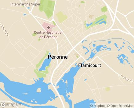 Localisation Service Mandataire Judiciaire à la Protection des Majeurs (MJPM) Santerre - 80010 - Amiens