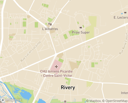 Localisation ADHAP - Assimadom - 80000 - Amiens