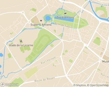 Localisation SPASAD Service Polyvalent d'Aide et de Soins à Domicile - Service de Portage de Repas à Domicile - 80000 - Amiens