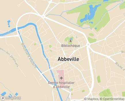 Localisation ADHAP - 80100 - Abbeville