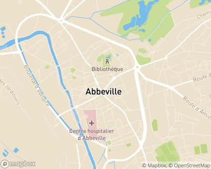 Localisation Vitame Abbeville - 80100 - Abbeville