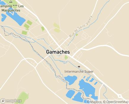 Localisation L'Entraide Familiale Membre UNA - 80220 - Gamaches