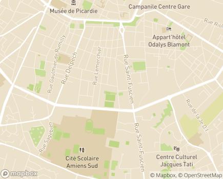 Localisation Les Jardins d'Henriville LNA Santé - 80000 - Amiens