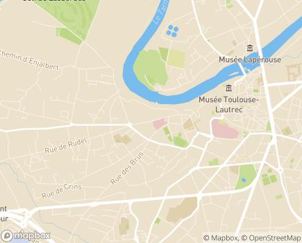 Localisation Centre Mutualiste de Rééducation Fonctionnelle - UMT - 81000 - Albi