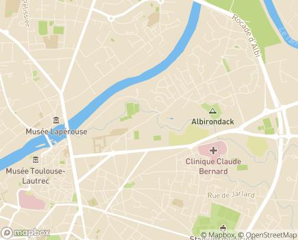Localisation ANRAS - Institut Médico-Éducatif Saint-Jean d'Albi - 81000 - Albi