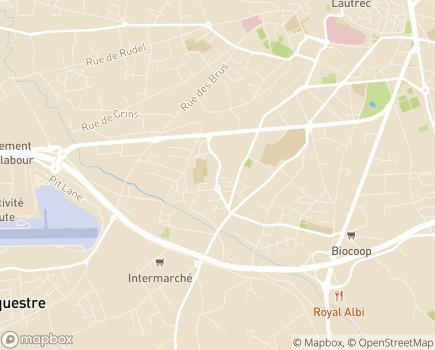 Localisation Sérénitarn - 81000 - Albi