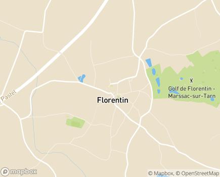 Localisation Institut Médico-Educatif Alain de Chanterac - 81150 - Florentin