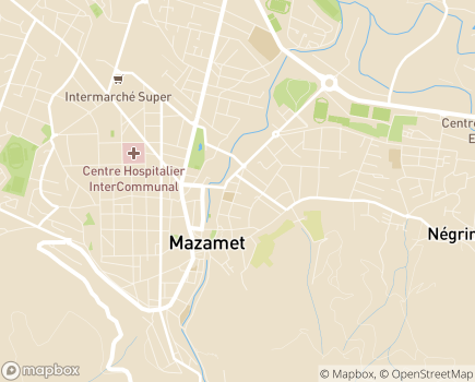 Localisation Maison d'Enfants à Caractère Social Sainte-Marie - 81200 - Mazamet