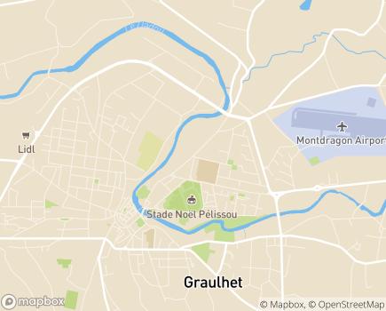 Localisation ANRAS Maison d'Enfants La Barthe - 81300 - Graulhet