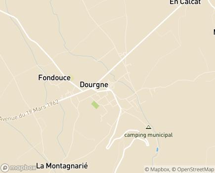 Localisation ADAR de Dourgne - 81110 - Dourgne