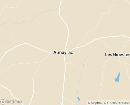 Localisation SSIAD Service de Soins Infirmiers à Domicile - 81190 - Almayrac