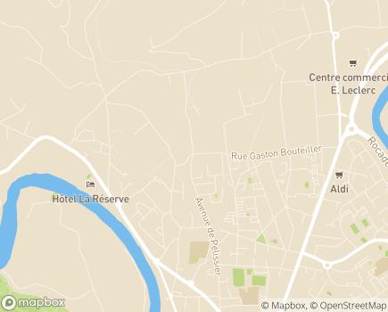 Localisation SSIAD Service de Soins Infirmiers à Domicile - UMT - 81000 - Albi