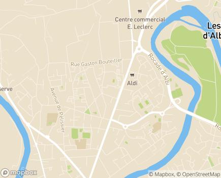 Localisation SESSAD Intervention précoce - 81000 - Albi