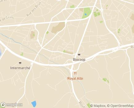 """Localisation UEEA - Unité d'Enseignement Elémentaire Autisme """"Rochegude"""" - 81000 - Albi"""