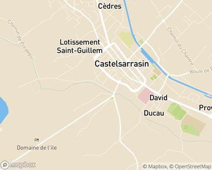 Localisation Maison de Retraite - 82100 - Castelsarrasin