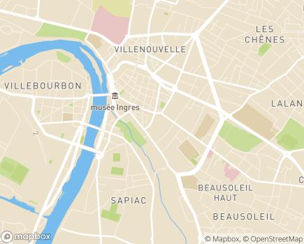 Localisation Pôle Solidarités Humaines de Tarn-et-Garonne - 82013 - Montauban
