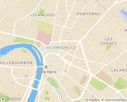 Localisation Fondation John BOST - Lou Camin - 82000 - Montauban