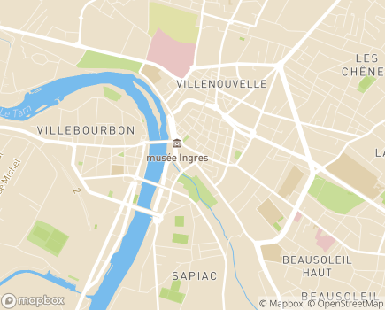 Localisation SMAD 82 - 82000 - Montauban