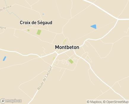 Localisation EHPAD Saint-Jean-Marie Vianney - 82290 - Montbeton