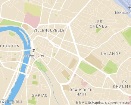 Localisation ADMR 82 - 82005 - Montauban