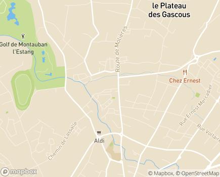 Localisation Résidence Edenis Les Saules - 82000 - Montauban