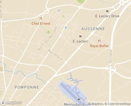 Localisation Bonjour Services - 82000 - Montauban