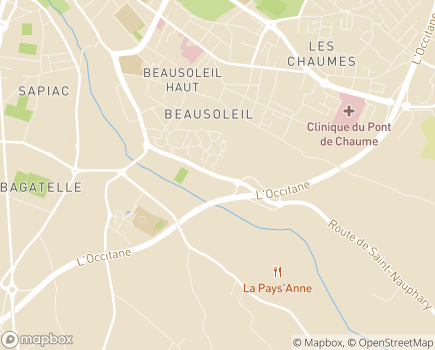 Localisation EHPAD Les Floralies - 82000 - Montauban