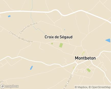 Localisation EHPAD Résidence Pagomal - 82290 - Montbeton