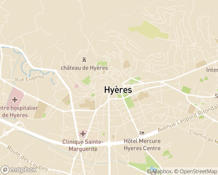Localisation Association des Elèves et Anciens Elèves de l'Ecole Nationale de la Santé Publique - 83407 - Hyères