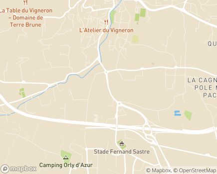 Localisation Conseil Départemental du Var de l'Ordre des Médecins - 83190 - Ollioules