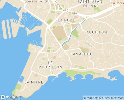 Localisation CEAS Emplois Familiaux - 83000 - Toulon