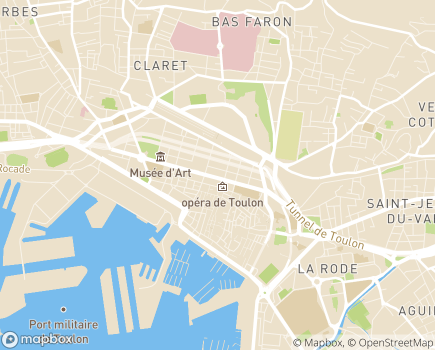 Localisation Soins Infirmiers à Domicile Le Porphyre - 83200 - Toulon