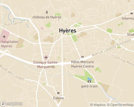Localisation SSIAD / ESA Le Domicile + Facile - 83400 - Hyères