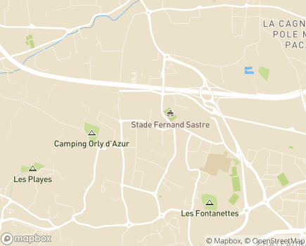 Localisation AREF Association Relais Emplois Familiaux - 83140 - Six-Fours-les-Plages