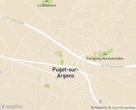 Localisation Résidence Services Bellevue - 83480 - Puget-sur-Argens
