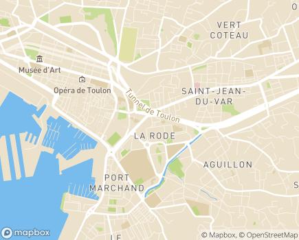 Localisation France Alzheimer Var - 83000 - Toulon
