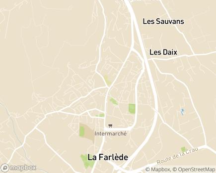 Localisation SSIAD du CIAS de la Vallée du Gapeau - 83210 - Solliès-Pont
