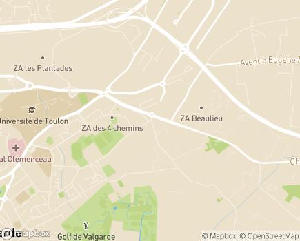 Localisation Service de Soins Infirmiers à Domicile - 83951 - La Garde