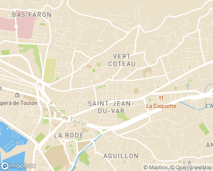 Localisation GIE Sainte-Marguerite - 83000 - Toulon