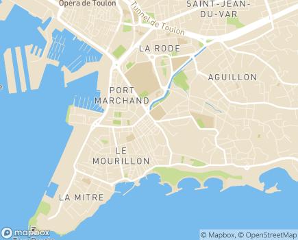 Localisation Home Services Toulon - 83000 - Toulon