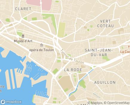 Localisation Générale des Services - 83000 - Toulon