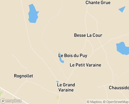 Localisation Beaupré du Réal - 83640 - Saint-Zacharie