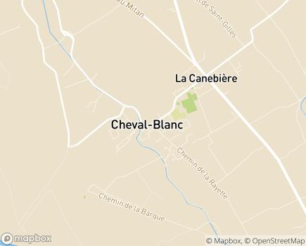 Localisation EHPAD Résidence Les Sereins - 84460 - Cheval-Blanc
