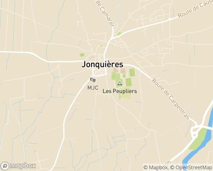 Localisation EHPAD Maison de Retraite Intercommunale Jonquières-Courthézon - 84150 - Jonquières