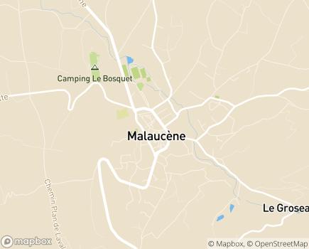 Localisation EHPAD Maison de Retraite L'Oustalet - 84340 - Malaucène